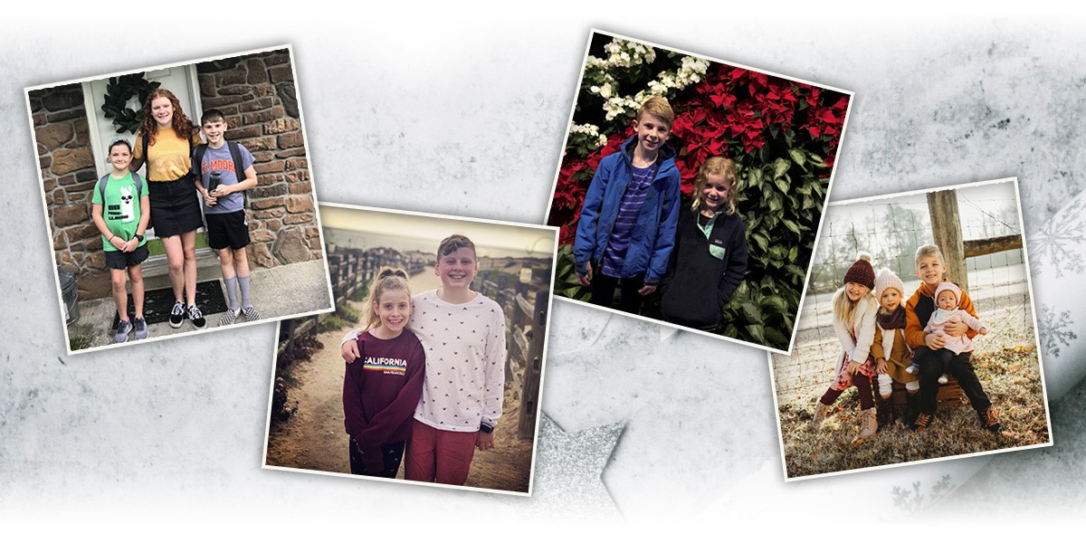 Grandkids – Jones collage